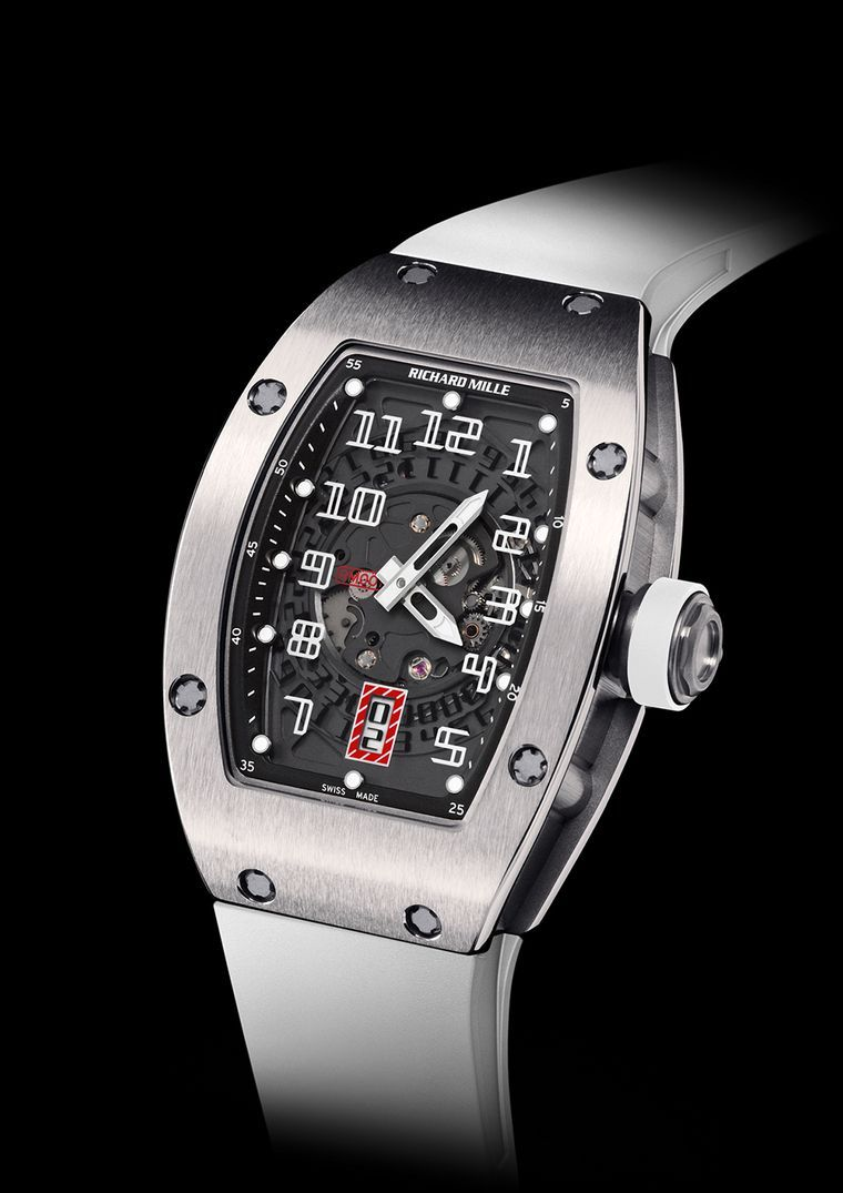 0745b46e592 Richard Mille RM 007 Titanium watch - Lacoste Ladies Open 2013 ...