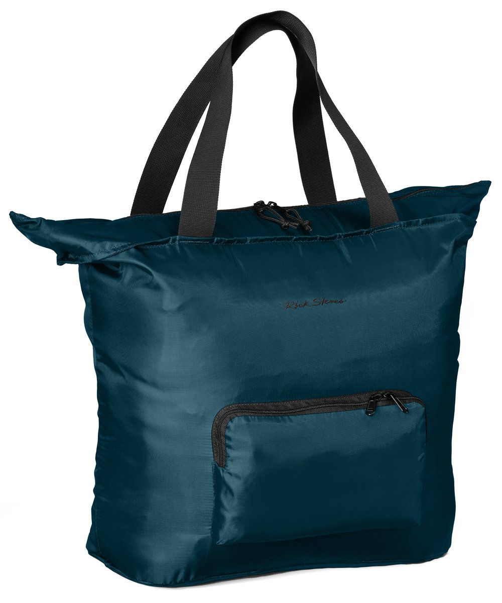 Large Nylon Tote Bag with Zipper | Rick Steves Travel Store ...