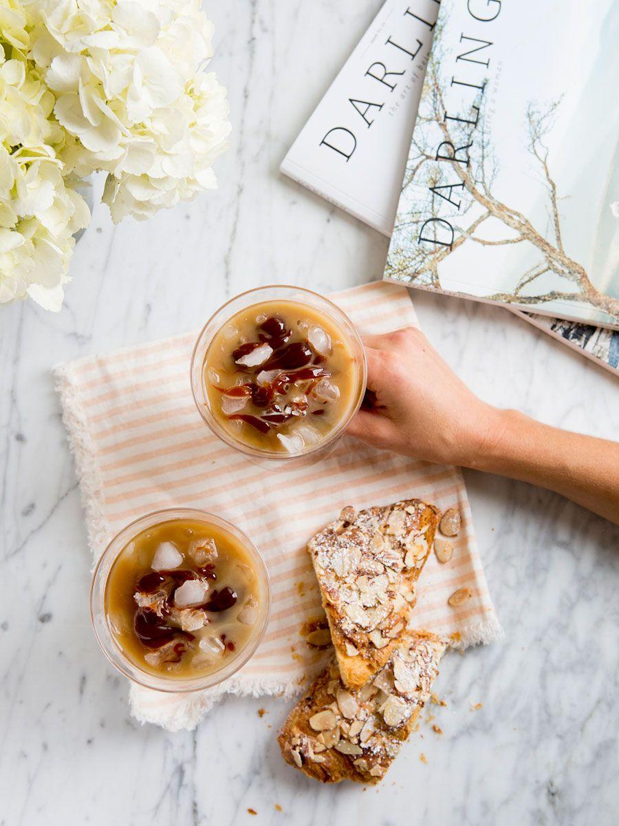 Iced Caramel Latté Recipe Coffee recipes, Homemade
