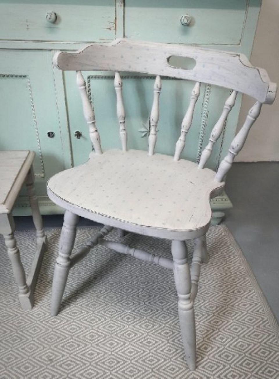 Stilmobel Bauernmobel Stuhl Tisch Beistelltisch Shabby Chic