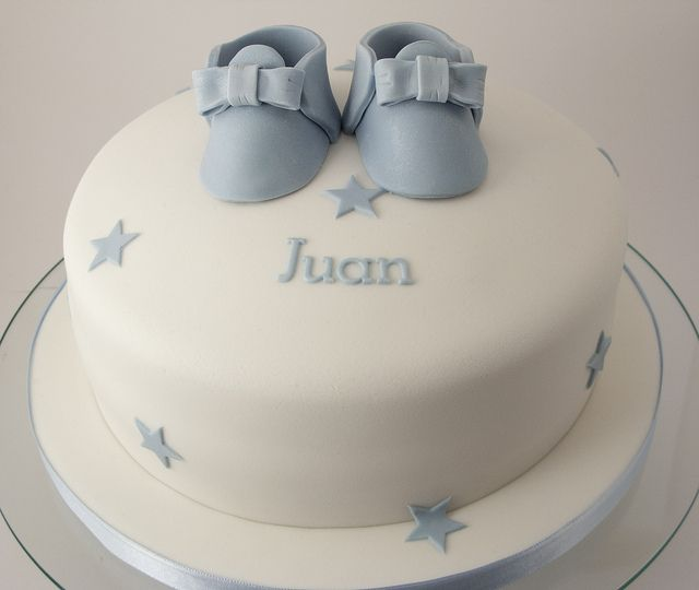 Boys christening cake Star cakes Cake and Christening cakes
