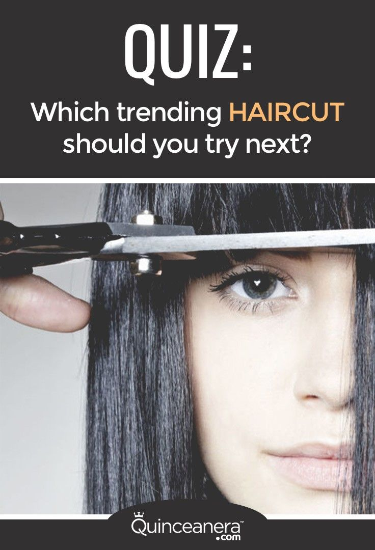 Quiz Which Trending Haircut Should You Try Next Hair Quiz Hair Quizzes Trending Haircuts