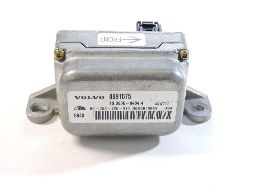03-06 Volvo XC90 Yaw Rate Sensor 8691675 31110063 Turn Sensor Module