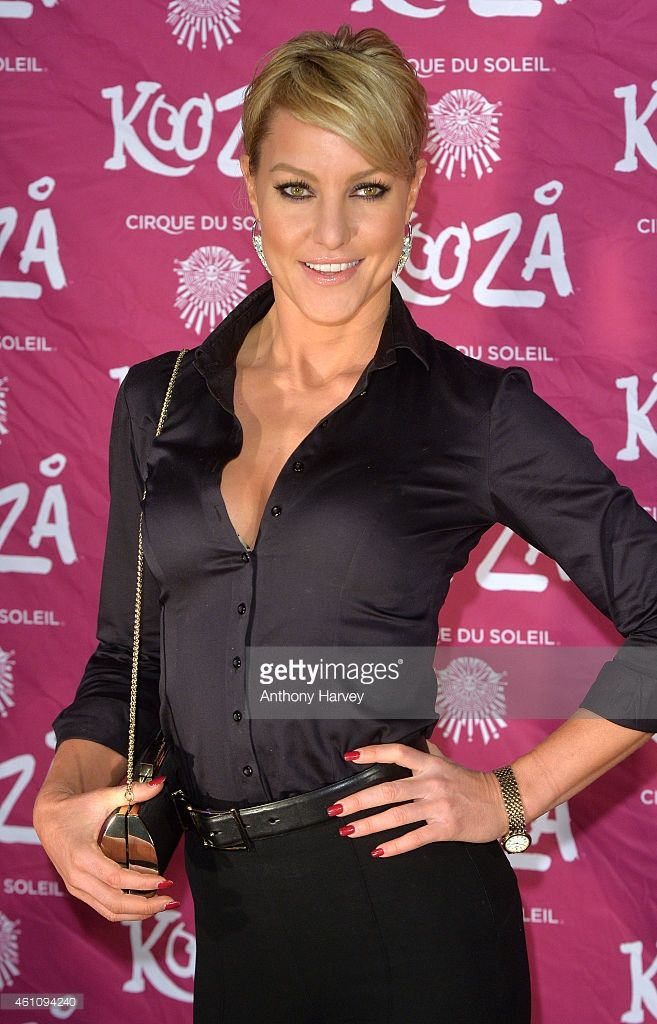 "Natalie Lowe attends the VIP performance of ""Kooza"" by"