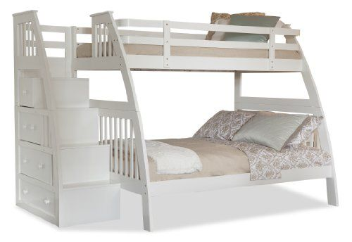 Etagenbett Schubladen Treppe : Canwood ridgeline bunk bed with built in stairs drawers twin over