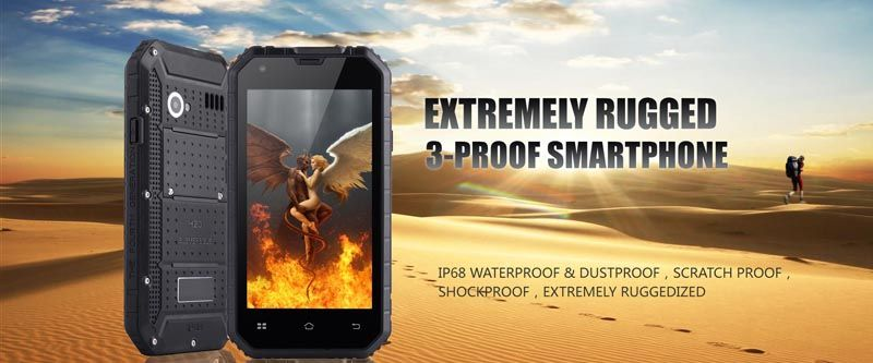 Cheapest rugged phone waterproof phone tri proof phone PTT NFC SOS