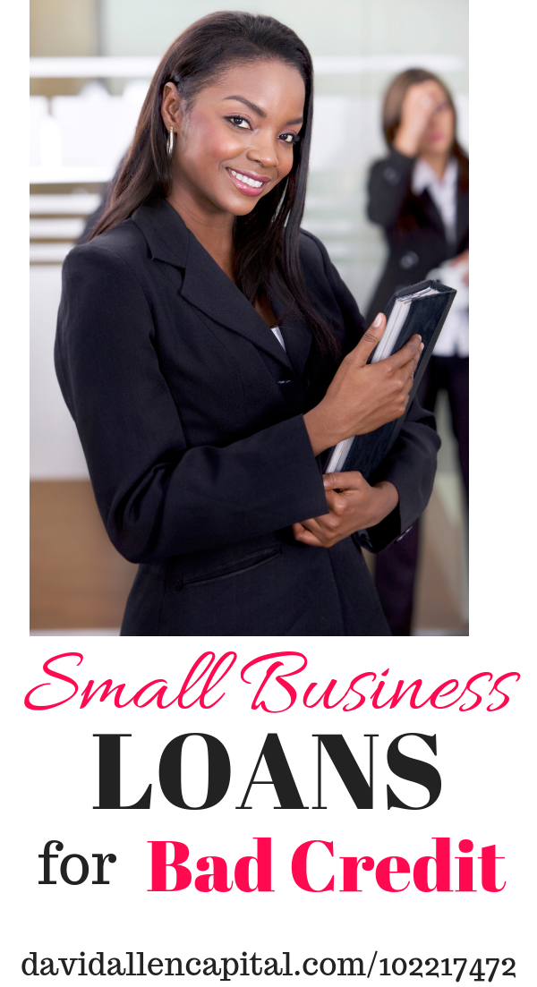 Small Business Loans For Bad Credit Loans For Bad Credit Business Loans Small Business Loans