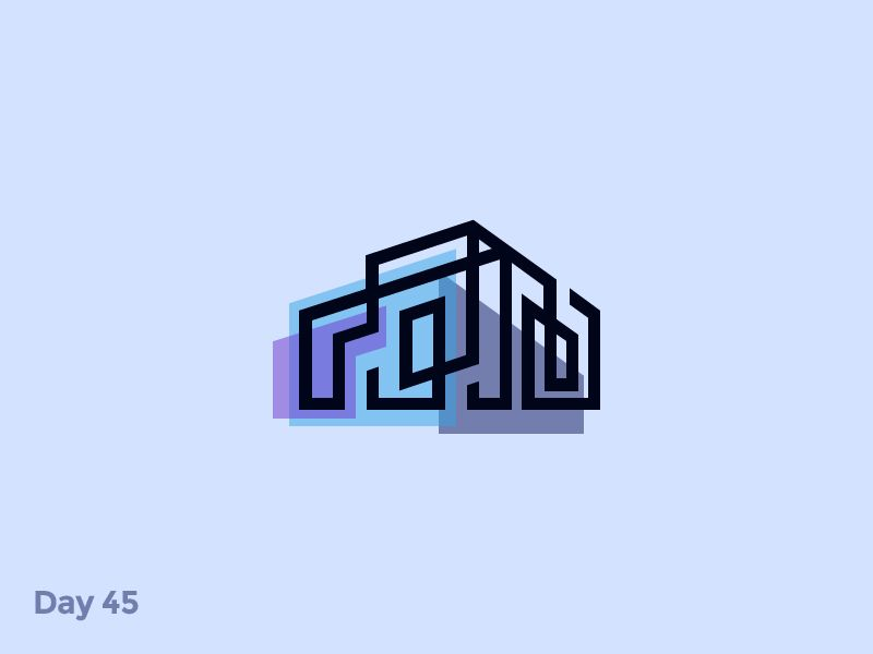 Captivating Daily Logo Challenge. 45/50   Architectural Logo If You Like It Press L ❤  And Follow Me. Follow Me In Web: Behance ▫ Instagram ▫ Twitter ...