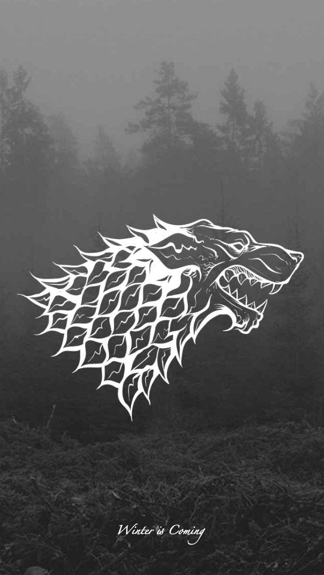 Game Of Thrones Wallpaper House Sigil Stark By Emmimania Deviantart Com On Deviantart House Sigil Stark Sigil Sigil