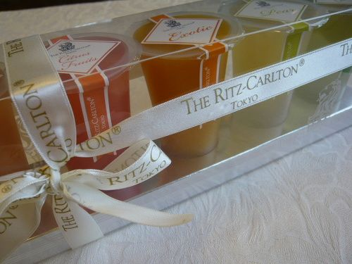 Luxury fruit jelly