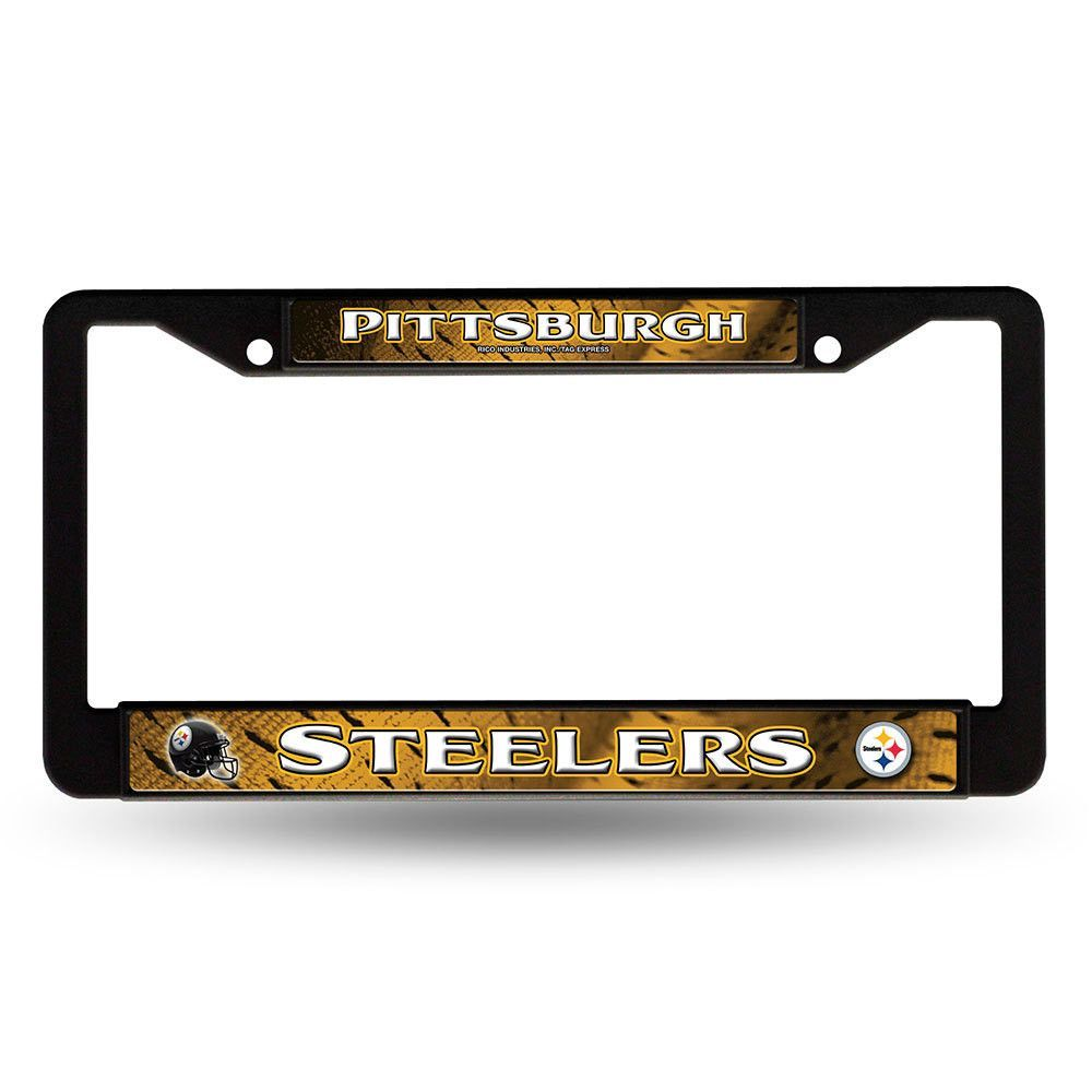 Pittsburgh Steelers NFL Chrome License Plate Frame | Products ...