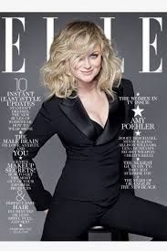 Elle, Amy Poehler, February 2014