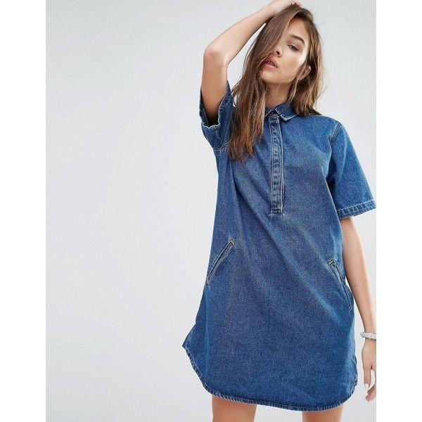 47+ Denim t shirt dress ideas