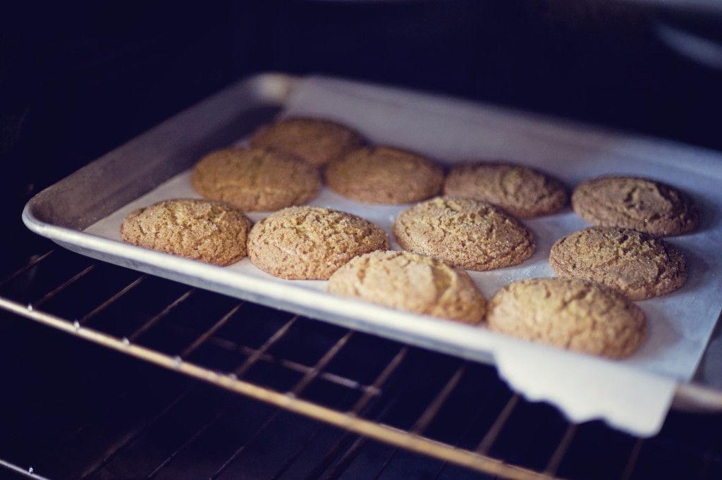 {eats} Molasses Spice Cookies. www.north-salt.com