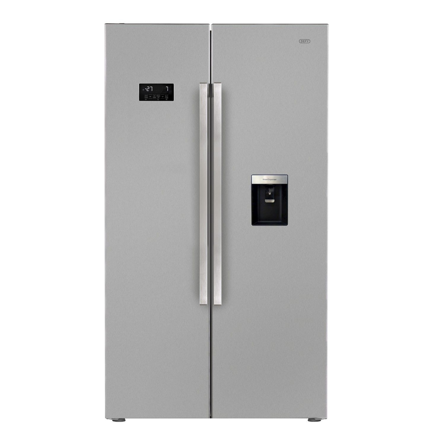 Defy 694 L Side By Side Fridgefreezer With Water Dispenser  Lowest