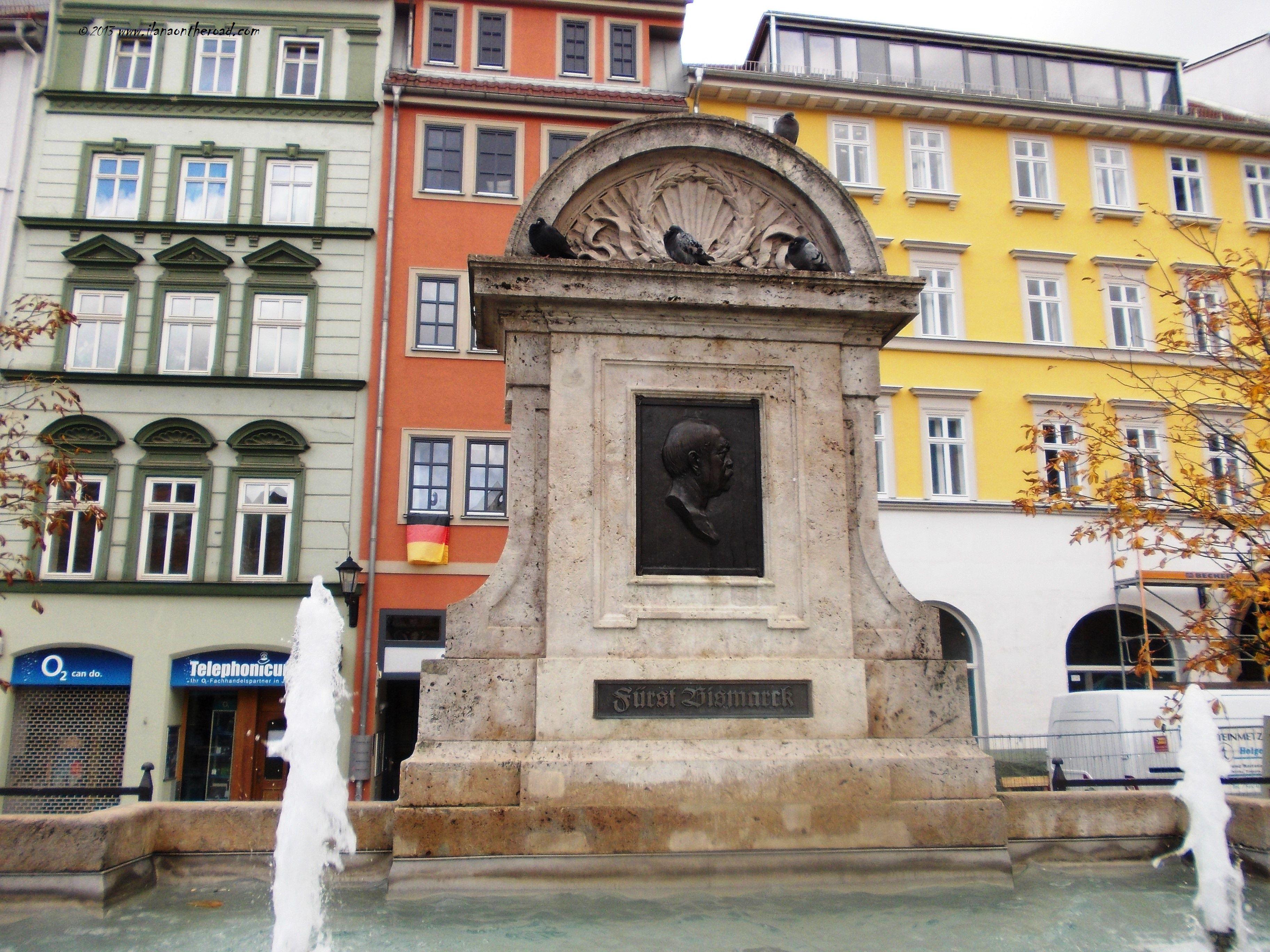 Bismark fountain