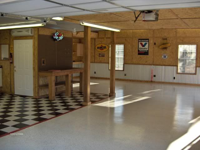 Interior Garage Paint Ideas 55 Kb Jpeg Garage Interior Walls Ideas The Garage Journal Board Http Garage Interior Garage Walls Garage Paint