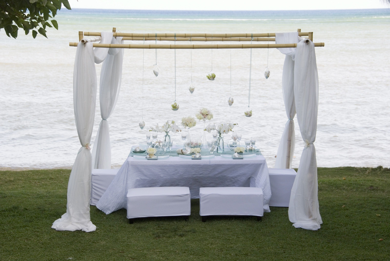 the wedding decorator beach style wedding inspiration - Beach Style Canopy Ideas