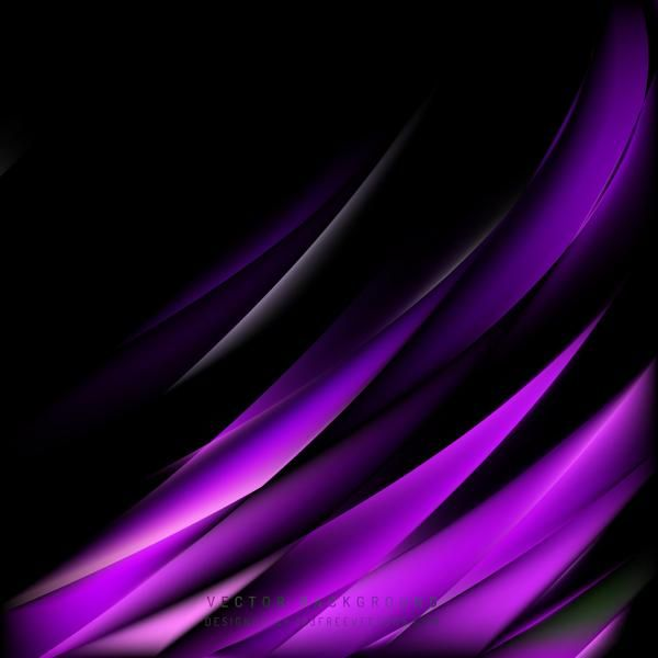 Abstract Purple Black Background