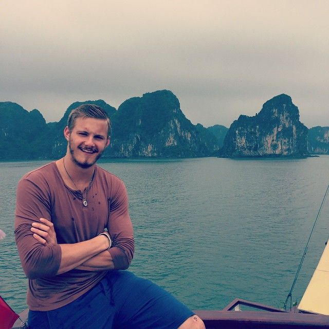 """""""#Vietnam such an incredible place. Ha Long bay. One of the best experiences of my life"""""""