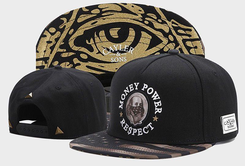 New Men Cayler Sons Cap Hip Hop Baseball Snapback Adjustable Street Blue Hat 1#