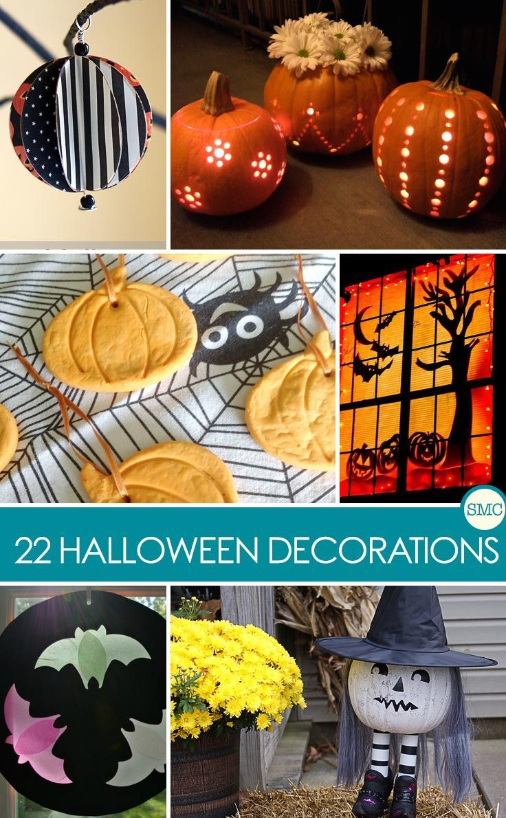 Turn Your Home Spooky with These Easy Halloween Decorations for Kids - Homemade Halloween Decorations