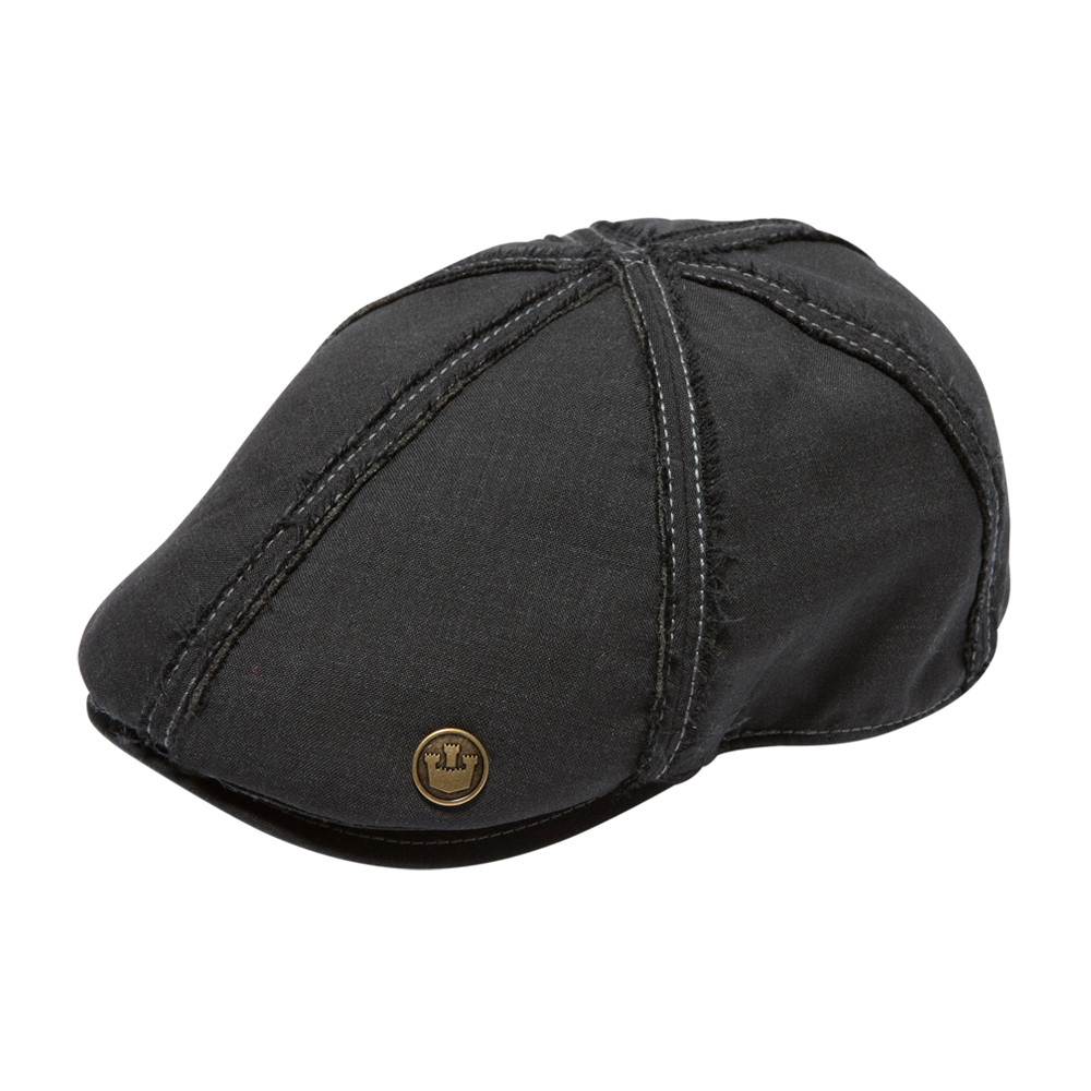 Goorin's Bulliet.  Bulliet is a snap ivy duckbill made of 100% wool. This cap features an asterix of reverse seam stitching starting at the center of the crown and then cascading down the bill ...