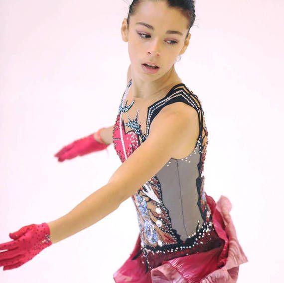 VERKAUFT exklusive Eiskunstlauf Kleid   Kunst   Kunst, Eis kunst und Eis 113d45a5b5