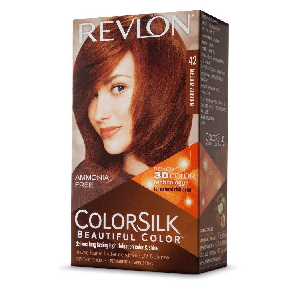 Revlon Colorsilk Hair Color Medium Auburn