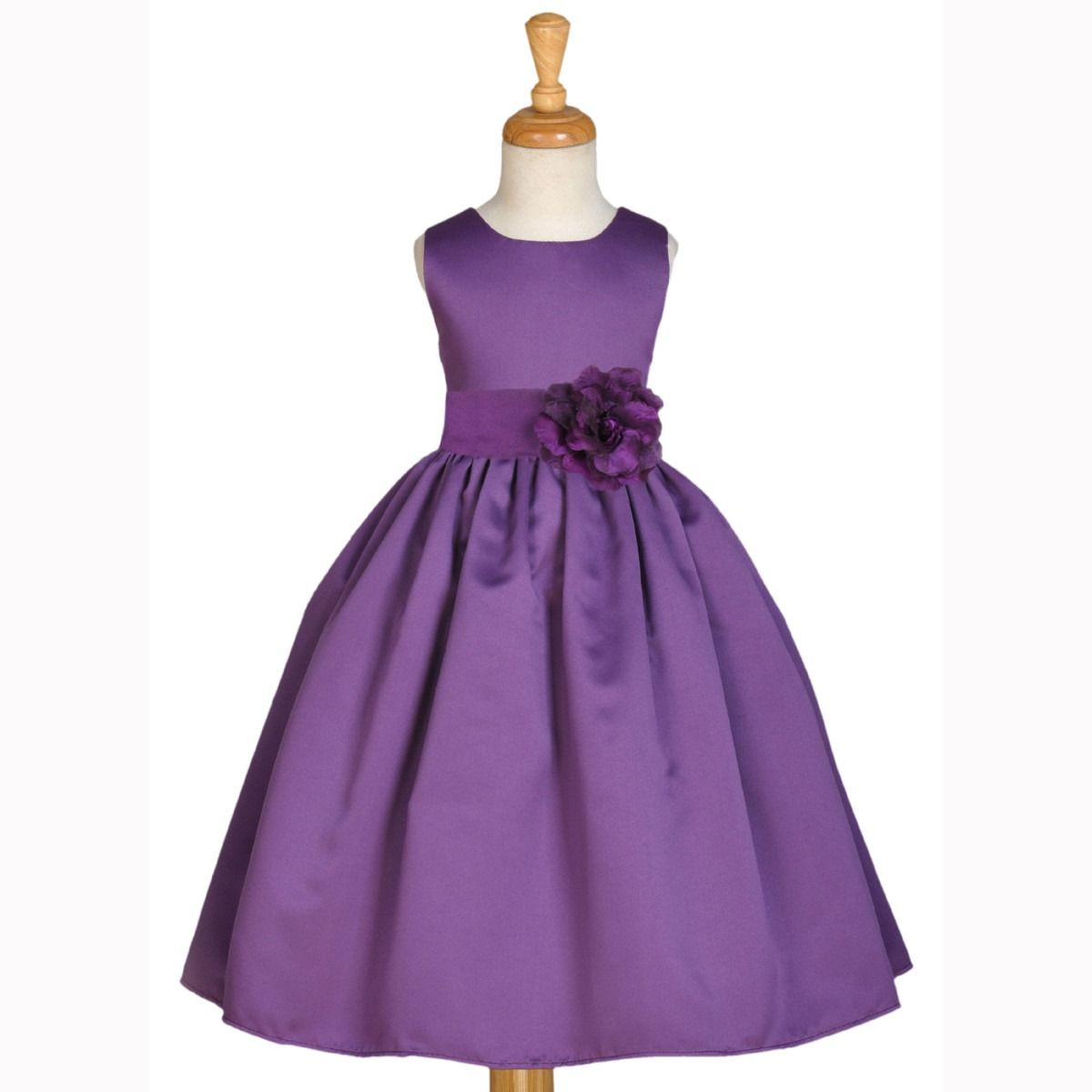 Breavley Diamond | Flower girl dresses, Girls dresses and Satin