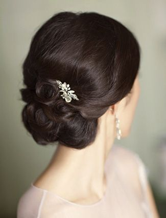 Wedding Hairstyle via DailyMakover.com