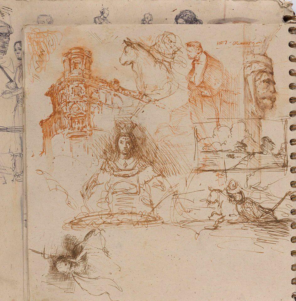 Steve Huston sketchbook