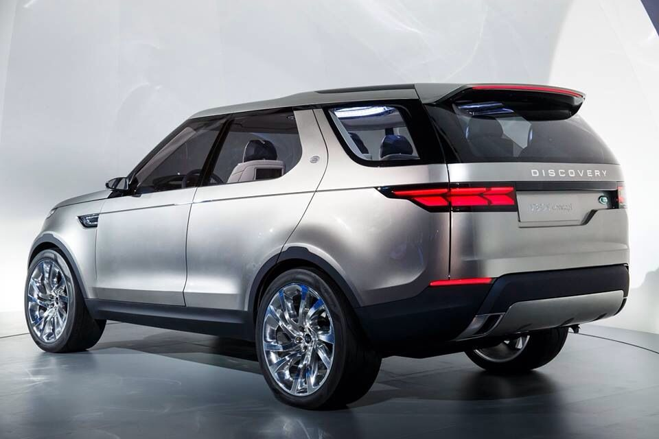 Discovery 5 visual concept back Land rover discovery
