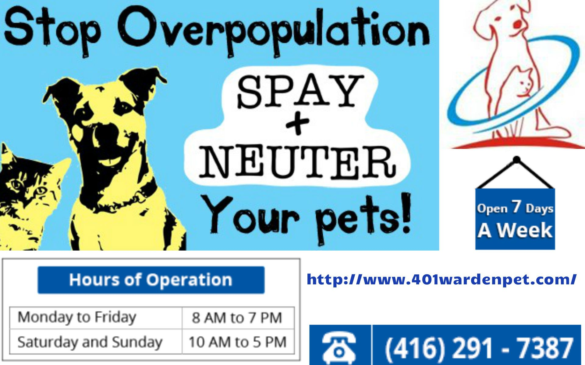 We Provide Safe Effective And Reliable Spay Neuter Surgery For The Male And Female Dogs And Cats Across Scarborough Our Vets Are Highly Qualified Pet Clinic