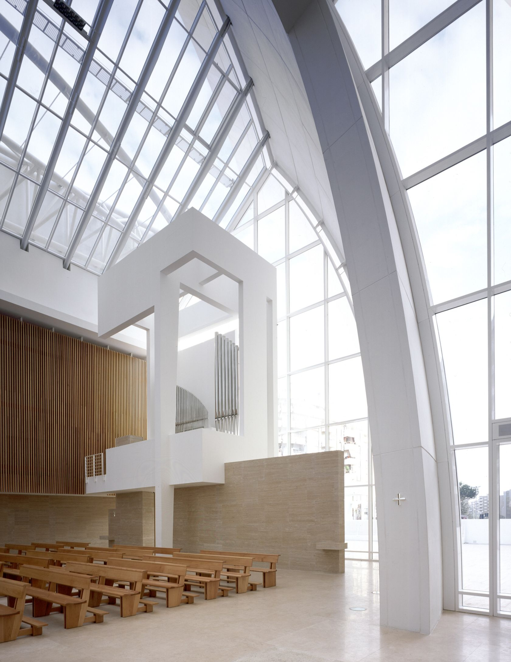 Jubilee Church By Richard Meier Richard Meier Richard