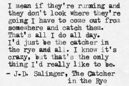 Can anyone help me find the page numbers for these quotes from The Catcher in the Rye?