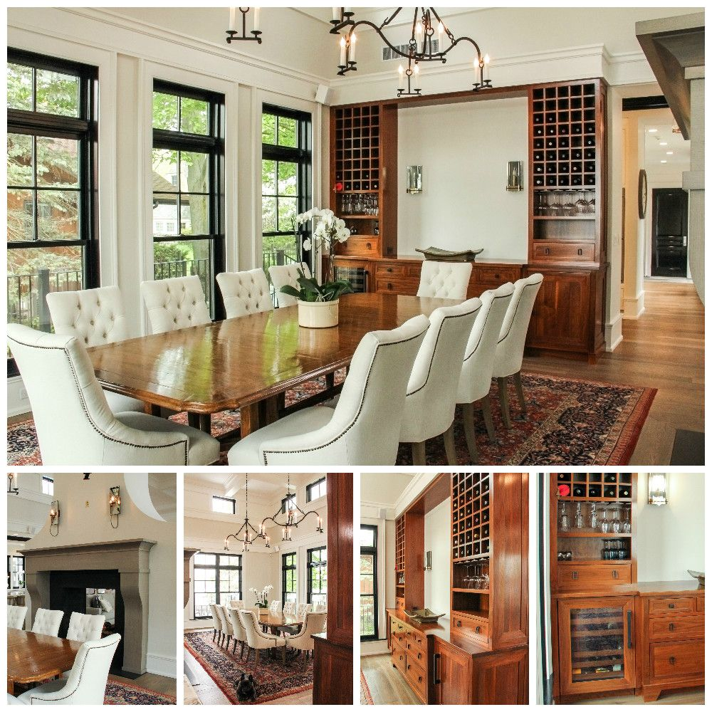 Guests Will Linger In This Dining Room When Drinks Are Served From The Gorgeous Wine Bar