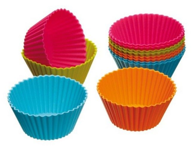 Set Of 12 Silicone Cupcake Liners Just 4 Free Shipping