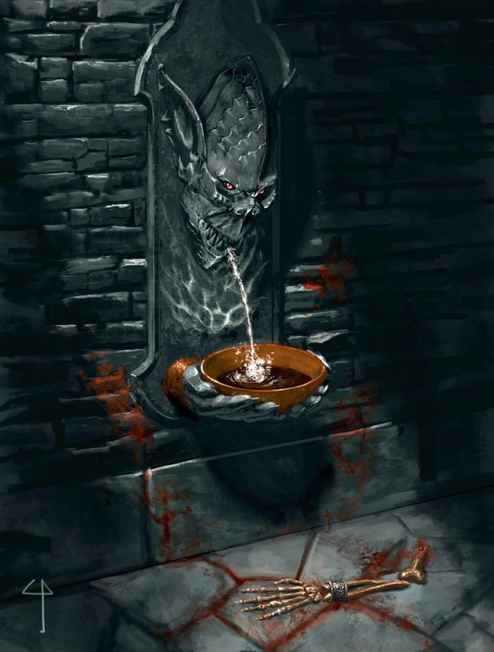 Devils Drink, an art print by Claudio Pozas