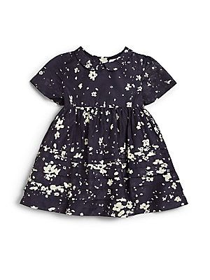 fd56bb509253 kids blue dress with white flowers for spring 2015. Burberry Infant s  Fantina Floral Print Cotton