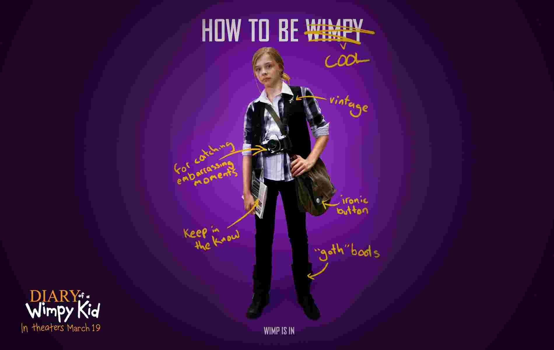 Chloe Moretz Diary Of A Wimpy Kid Chloe Moretz In Diary Of A