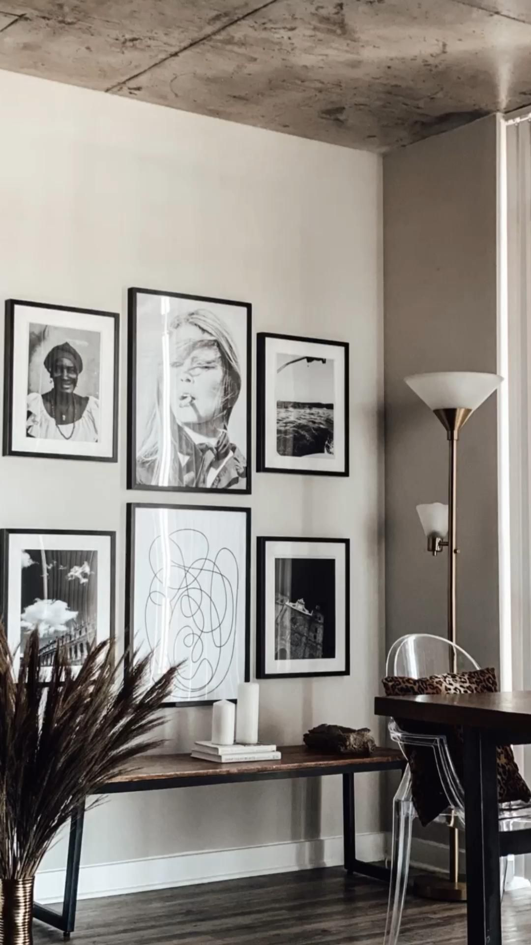 Photo of Gallery wall DIY