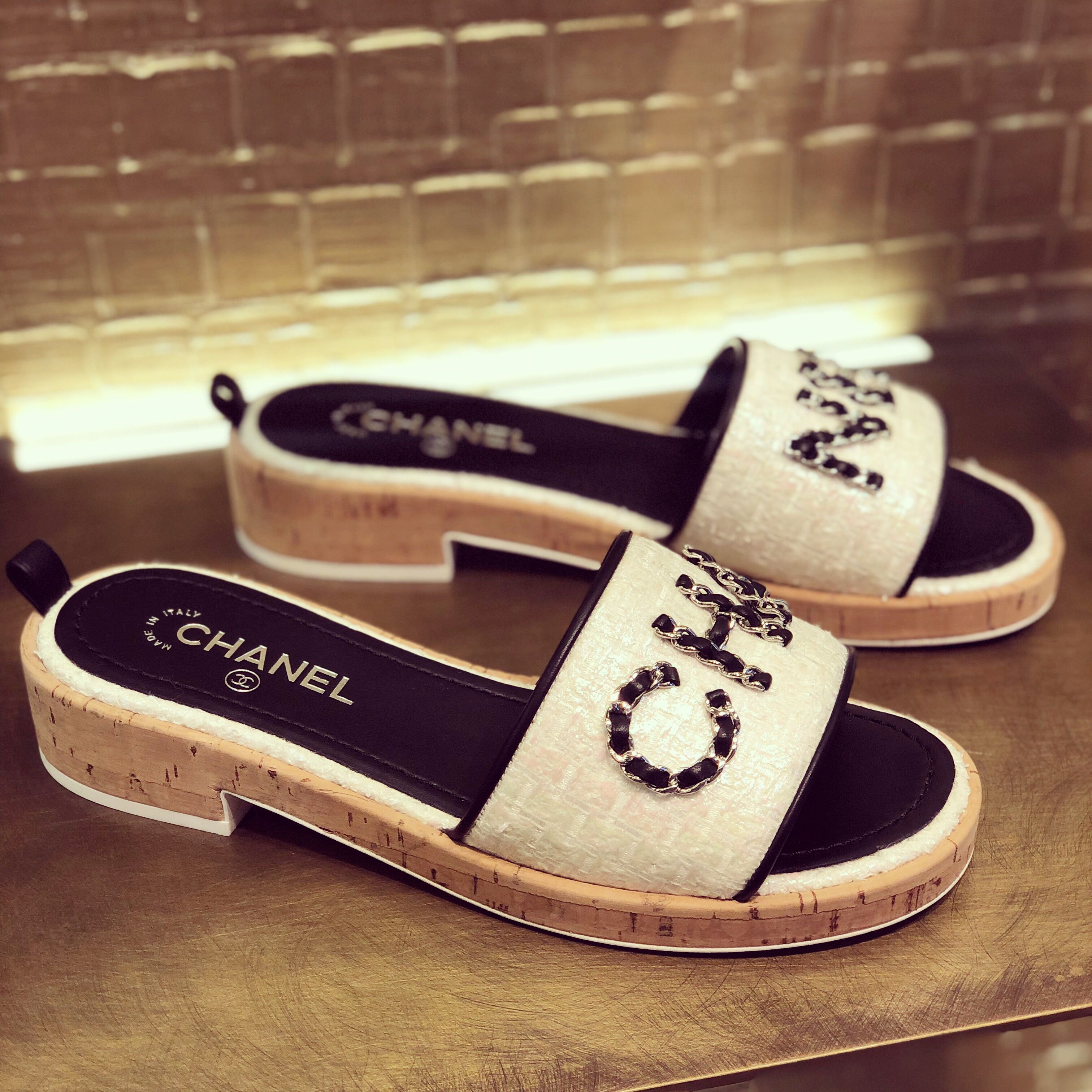 Chanel SS19 Sandals   Chanel shoes