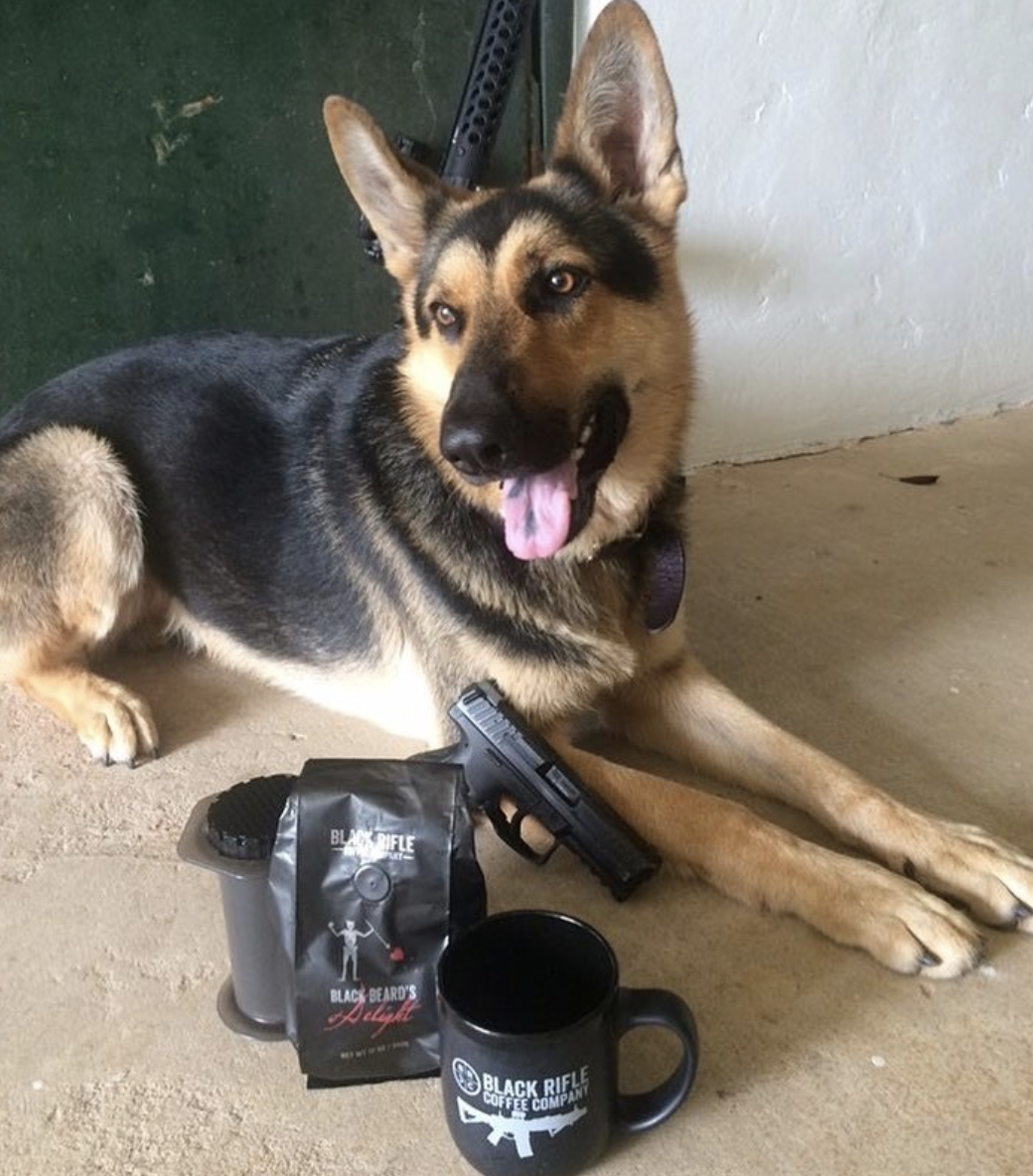 Pin on Dogs of Black Rifle Coffee