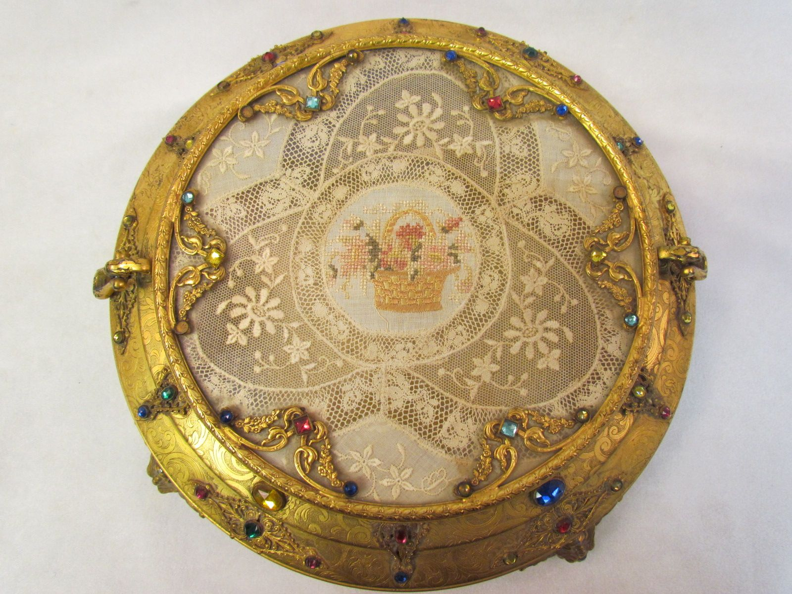 Antique vanity tray with lace insert - Apollo Jeweled Vanity Box Google Search Antique Vanityvanity Tray Vanitiesperfume
