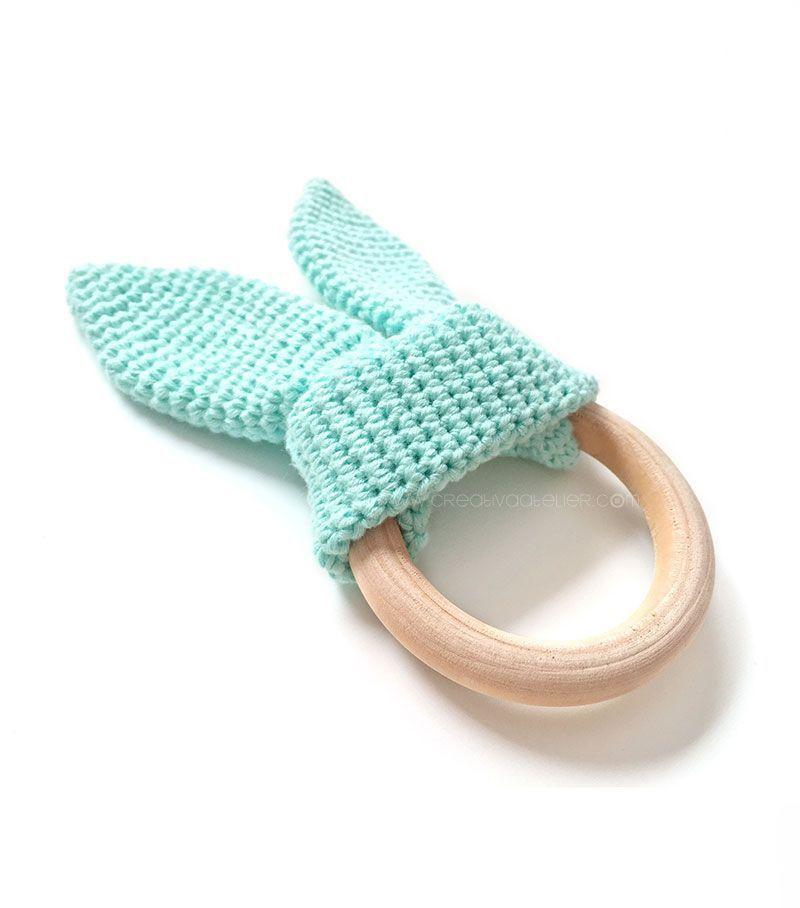 Mordedor Conejito Amigurumi [ Tutorial y Patrón Gratis ] | Crochet ...