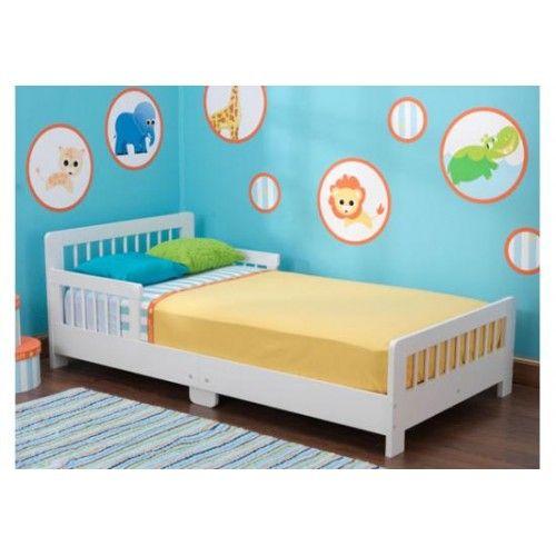 Kidkraft Slatted Toddler Bed White 86922 Kid Beds White Toddler Bed Toddler Bed