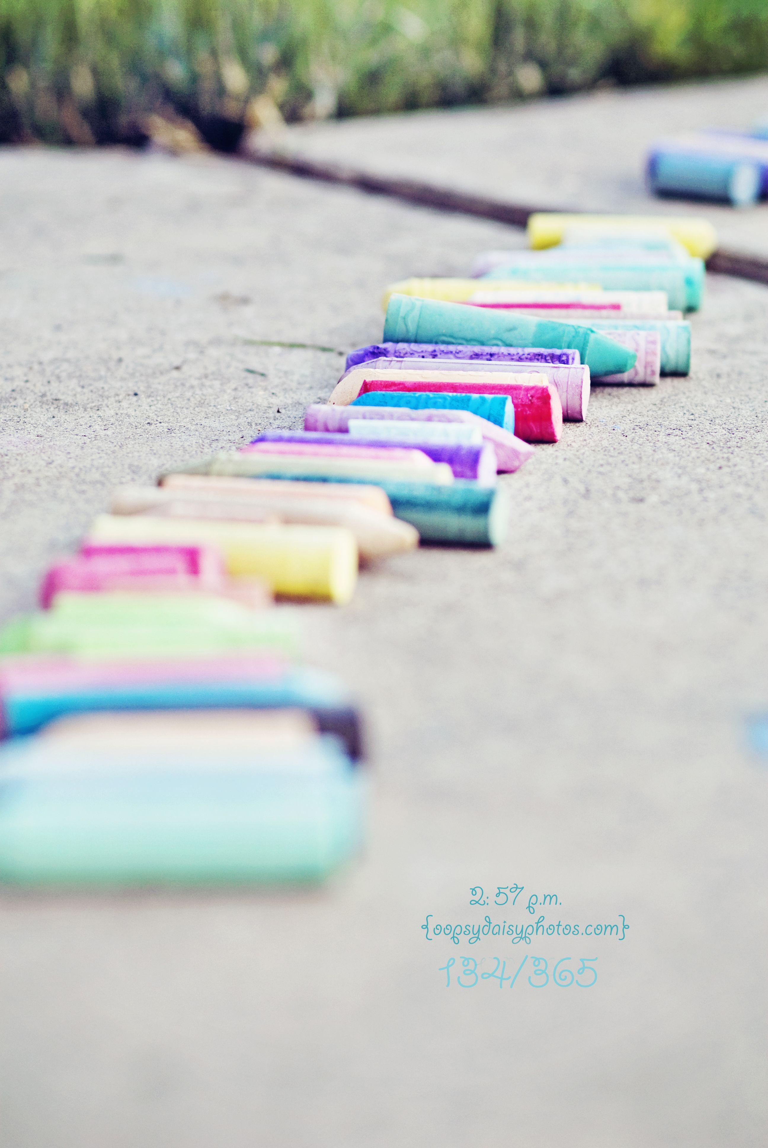 Beautiful line, great idea. Crazy Chalk 365