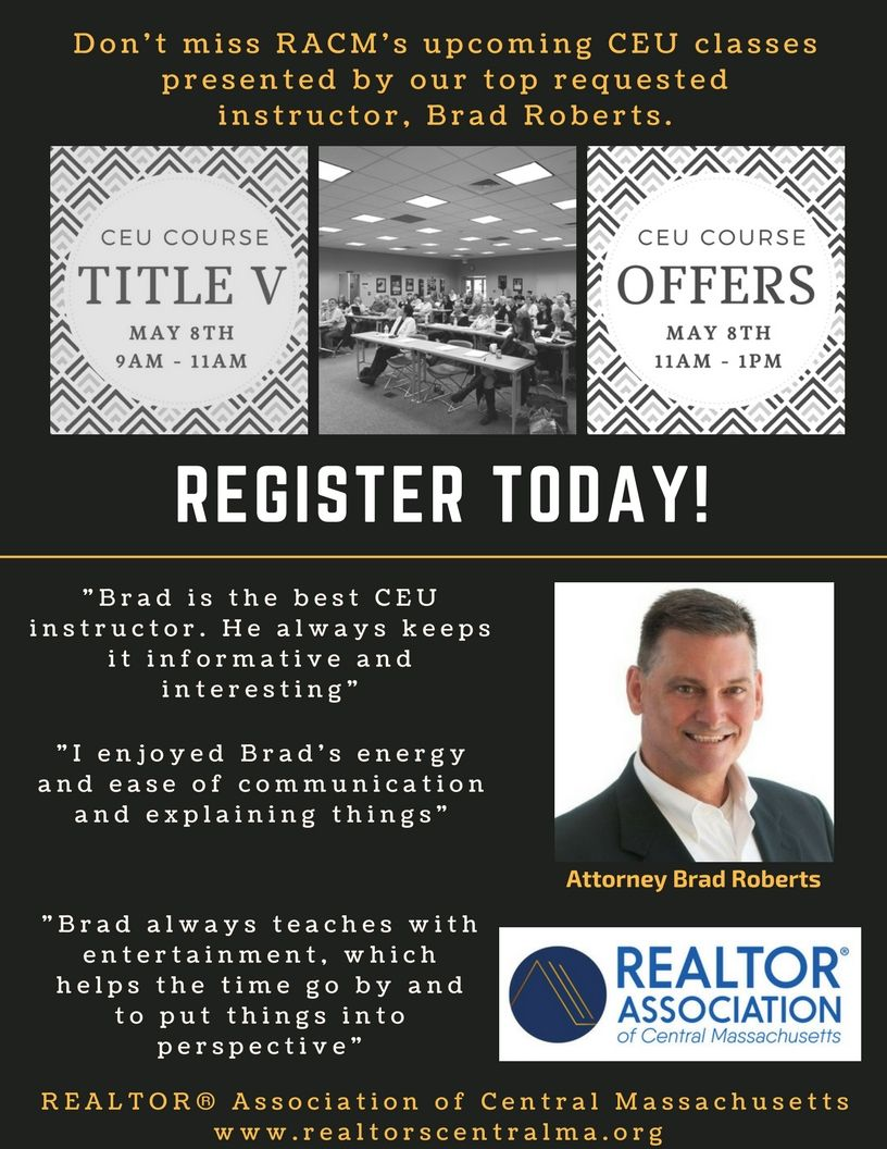 Mass real estate license course