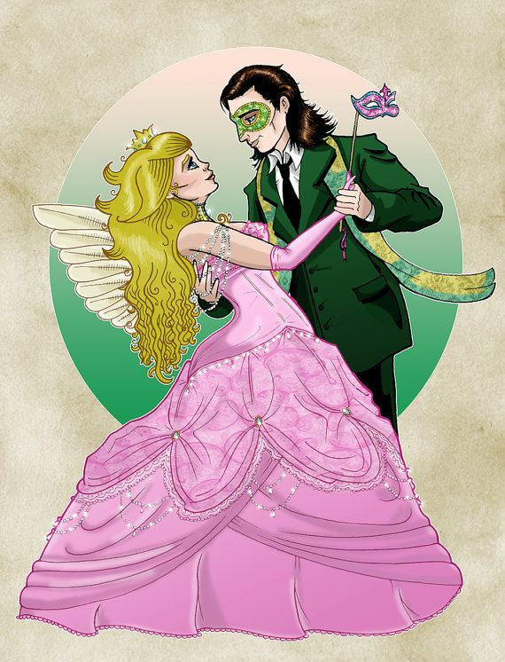 Paper Faces on Parade  Peach/Loki Fan Art by ArtOfAnastasiaCatris, £5.00